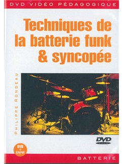 Techniques de la Batterie Funk & Syncopée DVDs / Videos | Drums