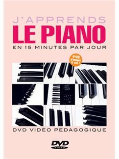 J'apprends le Piano en 15 Minutes par Jour DVDs / Videos   Piano