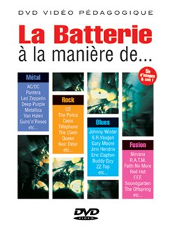 Batterie à la Manière De..... DVDs / Videos | Drums