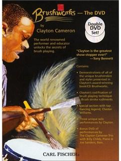 Clayton Cameron: Brushworks (DVD) DVDs / Videos | Drums