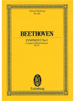 Ludwig Van Beethoven: Symphony No.5 Op.67 (Eulenburg Miniature Score) Books | Orchestra