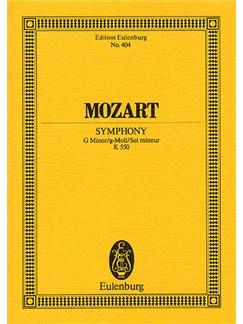 W.A. Mozart: Symphony No.40 In G Minor K.550 (Eulenburg Miniature Score) Books | Orchestra
