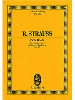 Richard Strauss: Don Juan Op. 20 (Eulenburg Miniature Score) Books | Orchestra