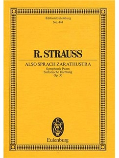 Richard Strauss: Also Sprach Zarathustra Op.30 (Eulenburg Miniature Score) Books | Orchestra