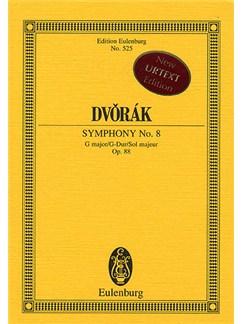 Antonin Dvorak: Symphony No.8 In G Op.88 (Eulenburg Miniature Score) Books | Orchestra