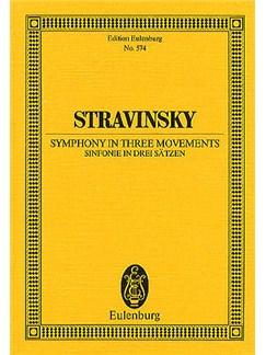 Igor Stravinsky: Symphony No.3 (Eulenburg Miniature Score) Books | Orchestra