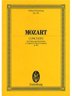 W.A. Mozart: Concerto No.21 In C Kv.467 (Eulenburg Miniature Score) Books | Piano, Orchestra