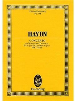 Josef Haydn: Trumpet Concerto In E Flat (Eulenburg  Miniature Score) Books | Trumpet, Orchestra