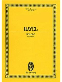 Maurice Ravel: Bolero (Eulenburg Miniature Score) Books | Orchestra