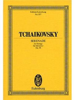 Pyotr Ilyich Tchaikovsky: Serenade In C Op.48 (Eulenburg Miniature Score) Books | String Orchestra
