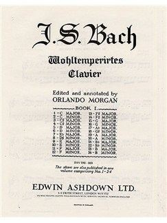 J.S. Bach: Prelude And Fugue No.2 In C Minor BMV 847 Libro | Piano