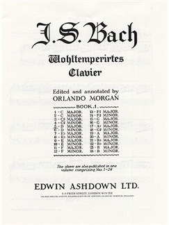 Js Bach: Prelude And Fugue No.5 In D Major Book 1 BMV 850 Buch | Klavier