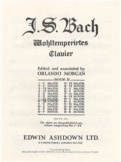 J.S. Bach: Prelude And Fugue No.7 In E Flat Major Book 2 BWV 876 Books | Piano