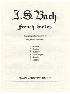 J.S. Bach: French Suite No. 2 In C Minor Books | Piano
