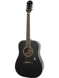 Epiphone: DR-100 (Ebony) Instruments | Acoustic Guitar