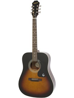 Epiphone: DR-100 (Vintage Sunburst) Instruments | Acoustic Guitar
