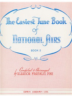 The Easiest Tune Book Of National Airs Book 2 Books | Piano and Voice, with Guitar chord symbols