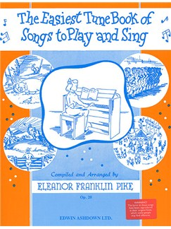 The Easiest Tune Book Of Songs To Play And Sing Books | Piano and Voice, with Guitar chord symbols