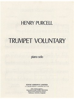 Henry Purcell: Trumpet Voluntary (Piano) Books | Piano