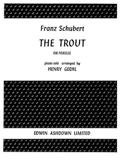 Franz Schubert: The Trout (Piano Solo) Books | Piano