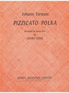 Johann Strauss II/Josef Strauss: Pizzicato Polka (Piano Duet) Books | Piano Duet
