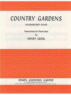 Cecil Sharp: Country Gardens Books | Piano