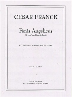 Cesar Franck: Panis Angelicus (Medium Voice/Piano) Libro | Voz Media, Acompañamiento de Piano