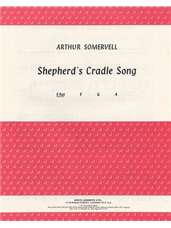Arthur Somervell: Shepherd's Cradle Song In E Flat Major Books | Voice and Piano