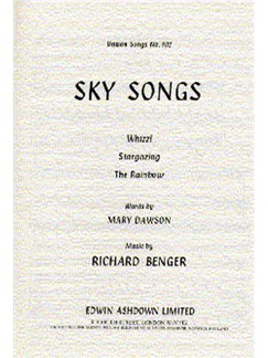 Richard Benger: Sky Songs Books | Unison Voice, Piano Accompaniment