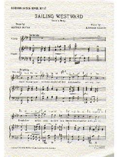 Edward Elgar: Sailing Westward (Unison) Books | Unison Voice, Piano
