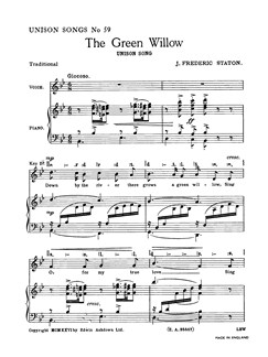 J. Frederic Staton: The Green Willow Books | Unison Voice, Piano Accompaniment