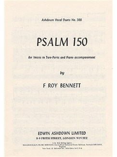 F. Roy Bennett: Psalm 150 Books | 2 Voice, Piano