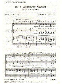 Albert Ketelbey: In A Monastery Garden (SS) Books | 2 Soprano, Piano