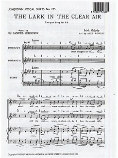 The Lark In The Clear Air (Alec Rowley) Books | 2-Part Choir, Piano Accompaniment