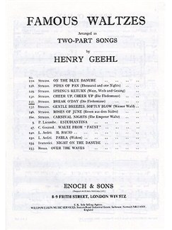 Johann Strauss II: Break O' Day (2-Part/Piano) Books | 2 Voice, Piano