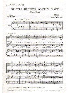 Johann Strauss II: Gentle Breezes, Softly Blow Libro | Coro en 2 Partes, Acompañamiento de Piano, Coral