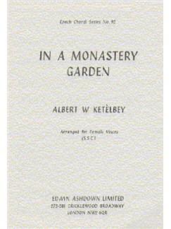 Albert Ketelbey: In A Monastery Garden (SSA) Books | 2 Soprano, Alto, Piano