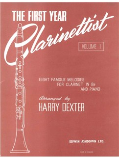 The First Year Clarinettist - Volume 1 Books | Clarinet, Piano Accompaniment