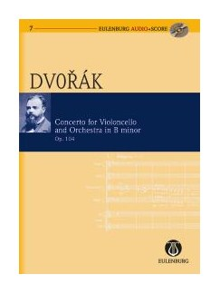 Antonin Dvorak: Cello Concerto (Eulenburg Score/CD) Books and CDs | Cello, Orchestra