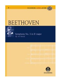 Ludwig Van Beethoven: Symphony No.3 In E Flat (Eulenburg Score/CD) Books and CDs | Orchestra