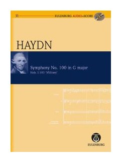 Franz Joseph Haydn: Symphony No.100 In G 'Military' (Eulenburg Score/CD) Books and CDs | Orchestra