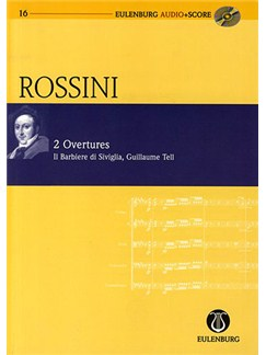 Gioacchino Rossini: Two Overtures (Eulenburg Score/CD) Books and CDs | Orchestra