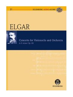 Edward Elgar: Cello Concerto Op.85 In E Minor (Score/CD) Books and CDs | Cello, Orchestra