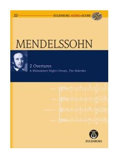 Felix Mendelssohn: 2 Overtures - The Hebrides / A Midsummer Night's Dream Books and CDs | Orchestra