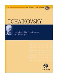 Pyotr Ilyich Tchaikovsky: Symphony No.6 In B Minor Op.74 Pathetique (Eulenburg Score/CD) Books and CDs | Orchestra