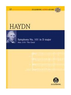 Joseph Haydn: Symphony No.101 In D 'The Clock' (Eulenburg Score/CD) Books and CDs | Orchestra