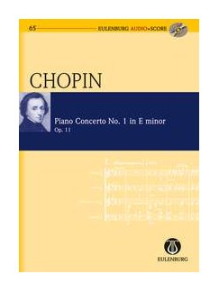 Frédéric Chopin: Piano Concerto No.1 In E Minor Op.11 (Eulenburg Score/CD) Books and CDs | Piano, Orchestra