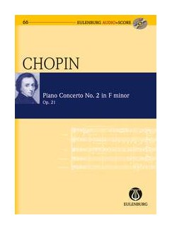 Frédéric Chopin: Piano Concerto No.2 In F Minor Op.21 (Eulenburg Score/CD) Books and CDs | Piano, Orchestra