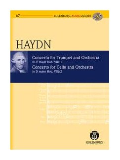 Joseph Haydn: Trumpet Concerto In E Flat  And Cello Concerto In D (Score/CD) Books and CDs | Trumpet, Cello, Orchestra