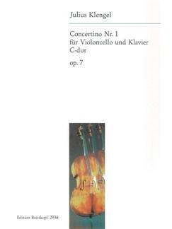 Julius Klengel: Concertino In C Op.7 (Cello) Books | Cello, Piano Accompaniment